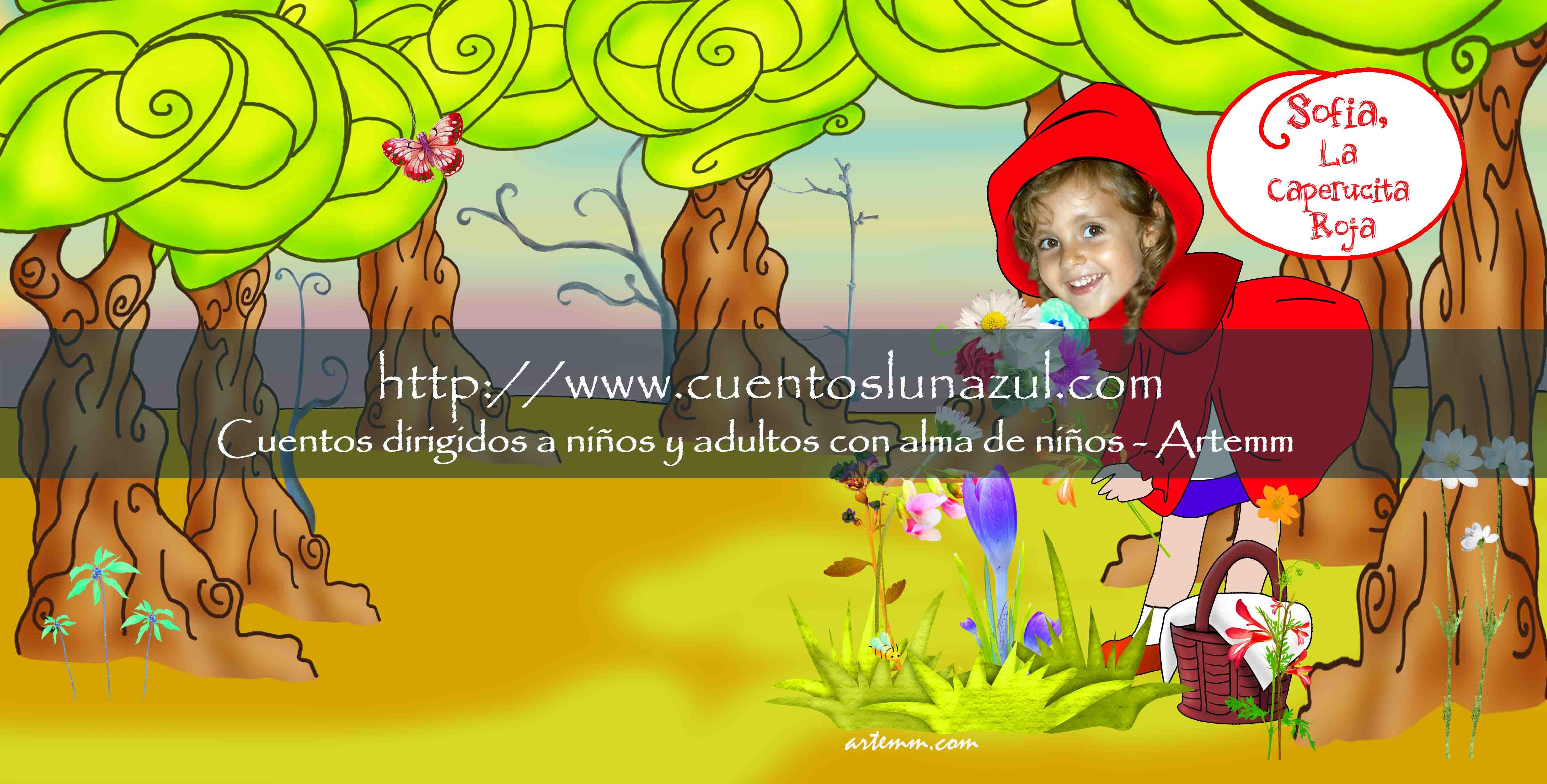 Sofía, la Caperucita roja