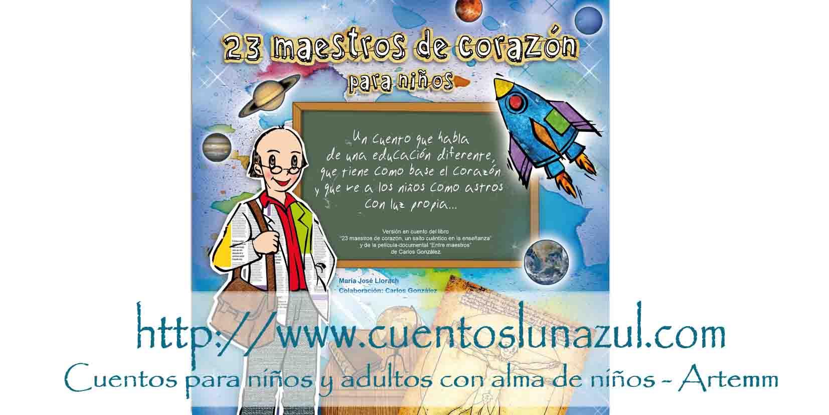 23 MAESTROS DE CORAZÓN para niños
