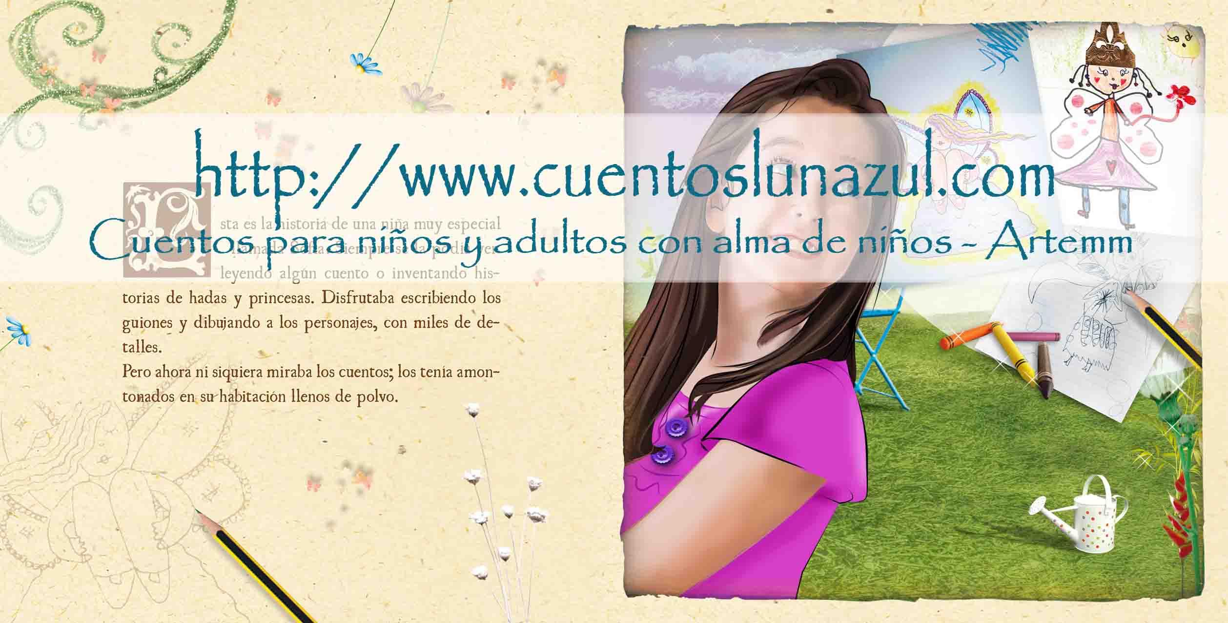 LA MARIPOSA AZUL personalizado pg1