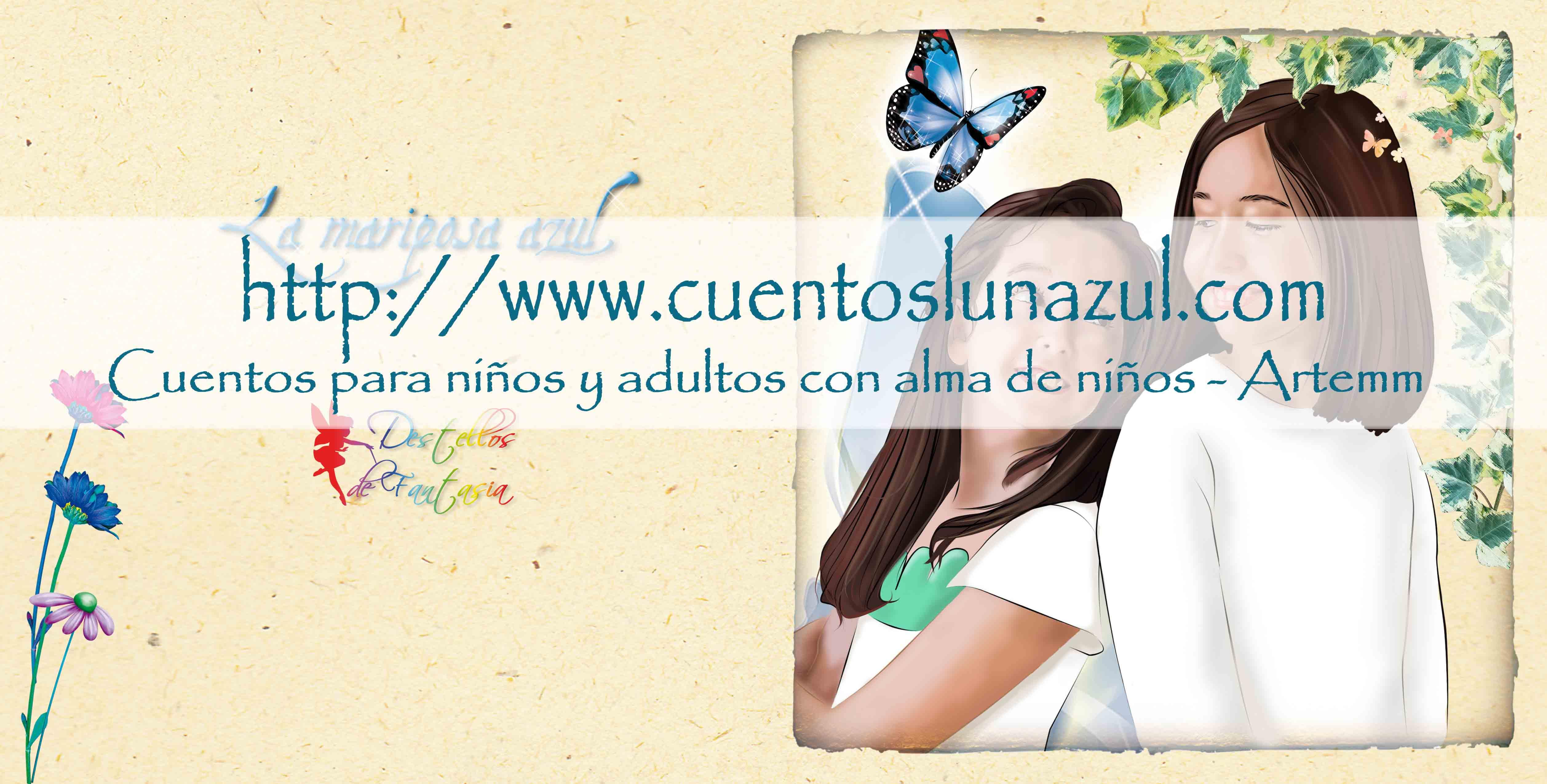 Mariposa Azul Personalizado Intro
